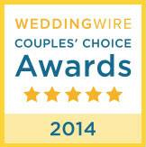 2014 Wedding Wire Couples Choice Award Winner