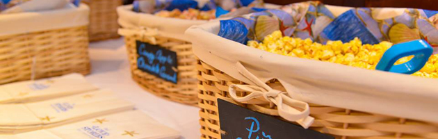 Becca & Tony's Beeches Inn Popcorn Bar