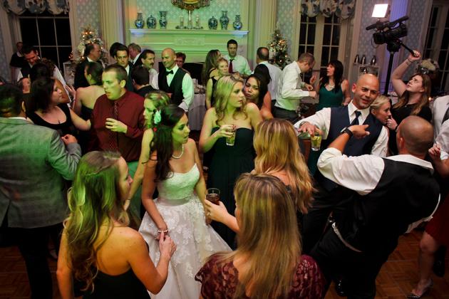 Stephanie and Chris's Otesaga Wedding Dance Party