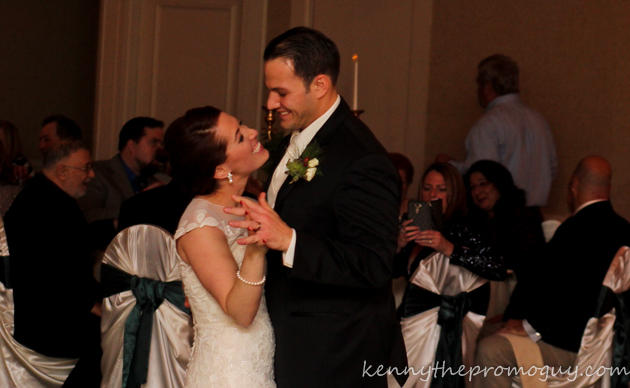 John and Chelsea's First Dance with Promo Productions Entertainment at their utica radisson reception