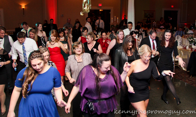 Cupid Shuffle at John and Chelsea's Wedding