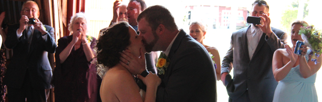 Rachael & Matt's Hayloft On The Arch Wedding