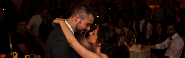 Jessica and Michael's Radisson Wedding Reception