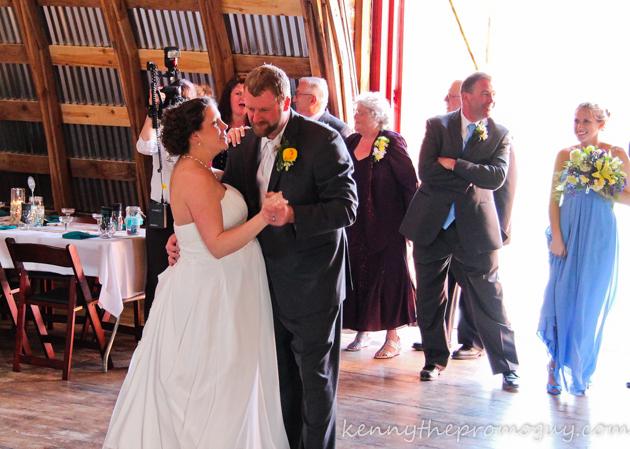 Rachael and Matt's First Dance