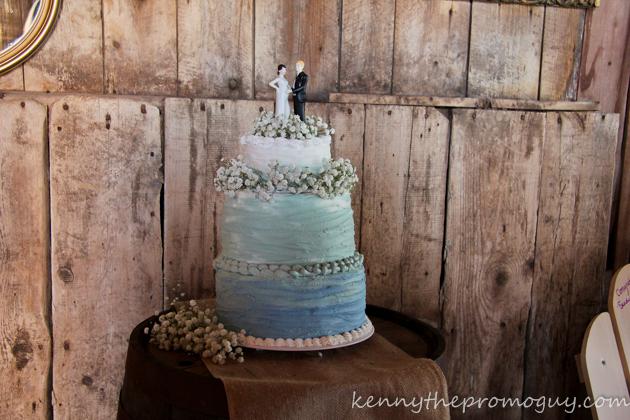 Rachael and Matt's Wedding Cake