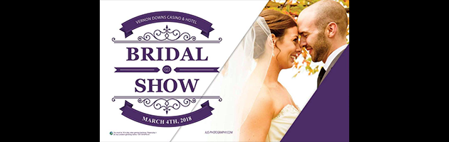 Join Us At The Vernon Downs Bridal Show