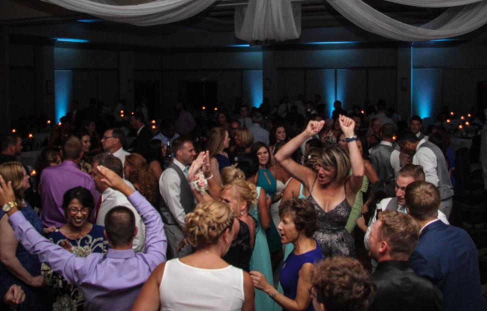 Amanda and Garrett Wedding Dance Party